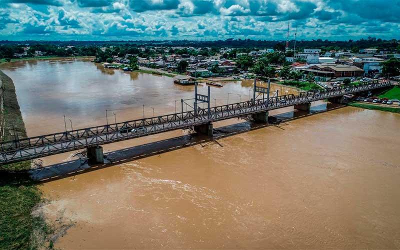 Chuvas: Rio Acre ultrapassa cota de alerta em 30 centímetros
