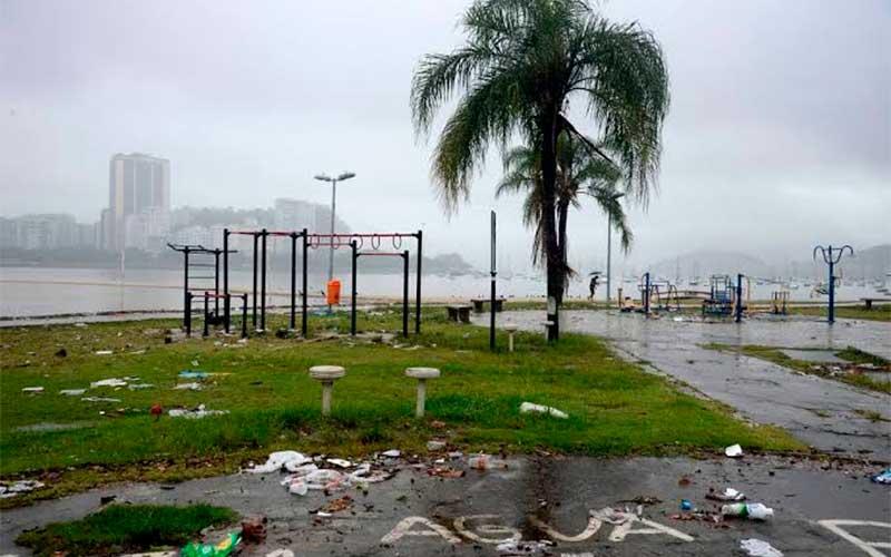 Inmet divulga alerta de perigo devido a chuvas no Rio e Espírito Santo