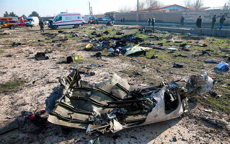 Ucrânia não descarta ataque com míssil a avião que caiu em Teerã
