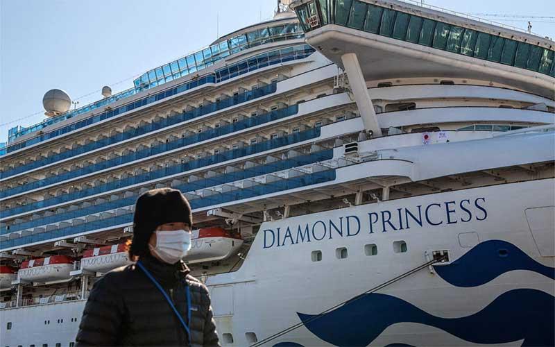 Outras 39 pessoas a bordo de navio estão infectadas pelo Coronavírus
