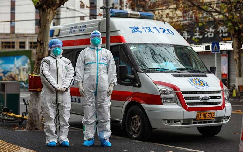 Total de mortos na China continental pelo coronavírus sobe para 1.113