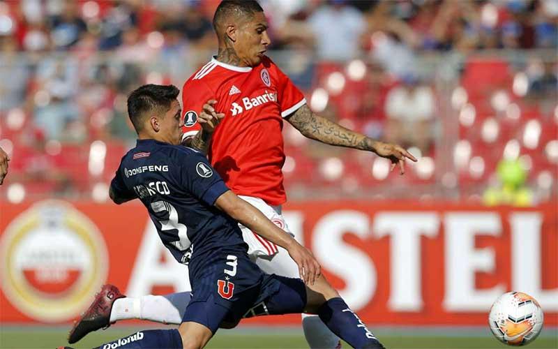 Internacional vence Universidad de Chile e passa de fase na Libertadores