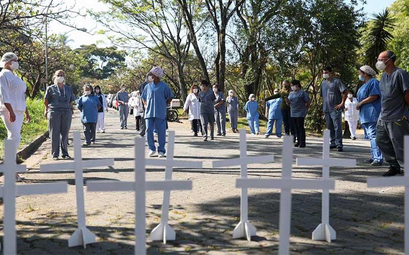Em duas semanas, número de mortes por covid-19 dobra em São Paulo