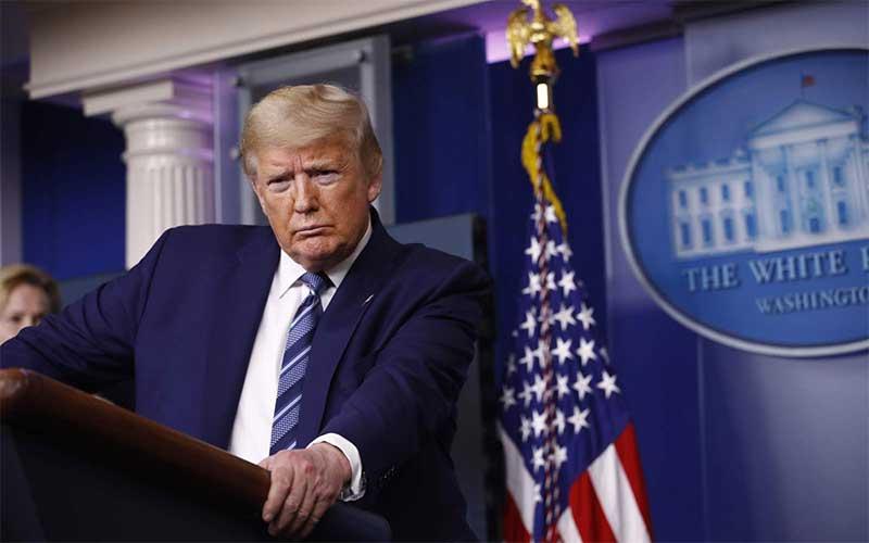 Trump diz que não quer conversar com presidente chinês no momento