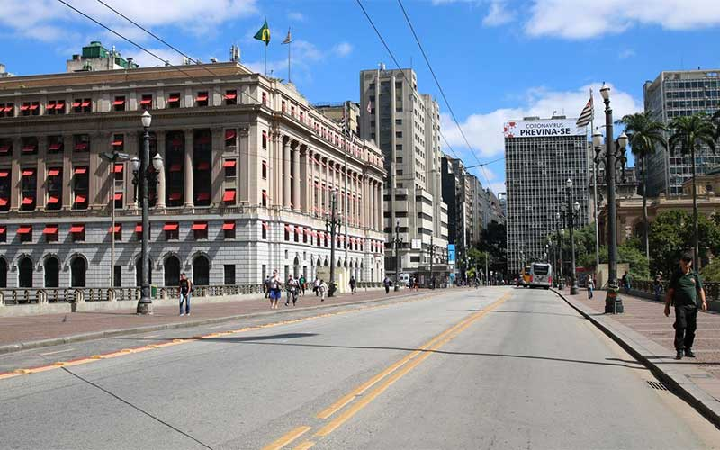 Feriado prolongado eleva índice de isolamento na capital paulista