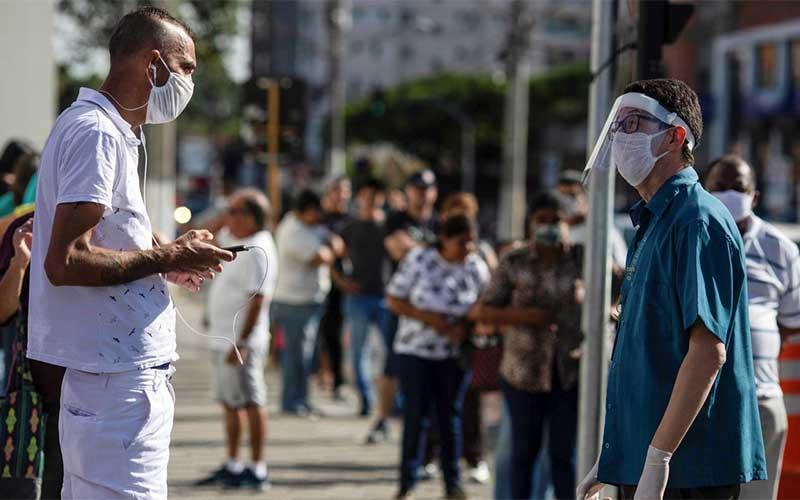 Brasil tem 1,1 mil mortes e 36,6 mil casos de covid-19 nas últimas 24h