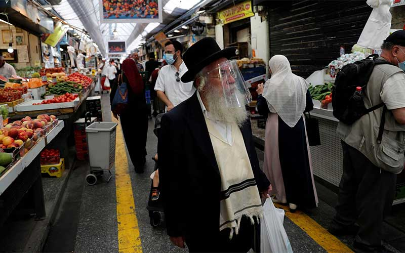 Israel tem novo recorde de covid-19, com quase 9 mil casos em 24 horas
