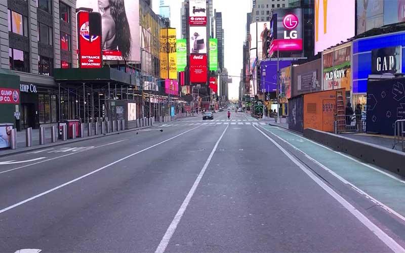 Nova York planeja lockdown em pontos críticos a partir de quarta