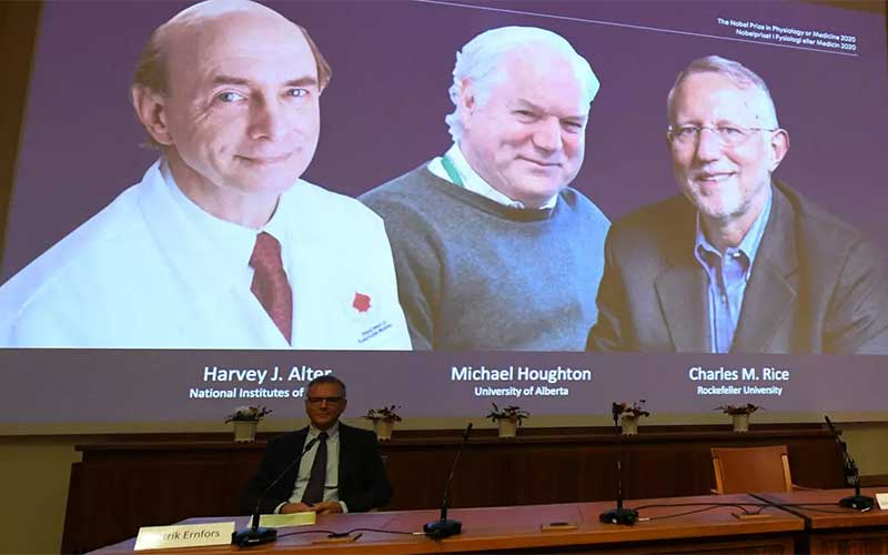 Cientistas que ajudaram a identificar vírus da Hepatite C ganham Nobel
