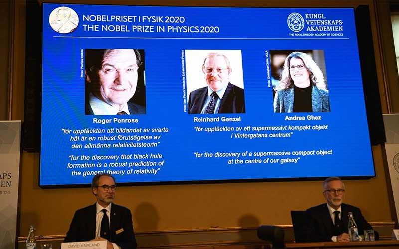 Descobertas sobre buraco negro vencem Nobel de Física