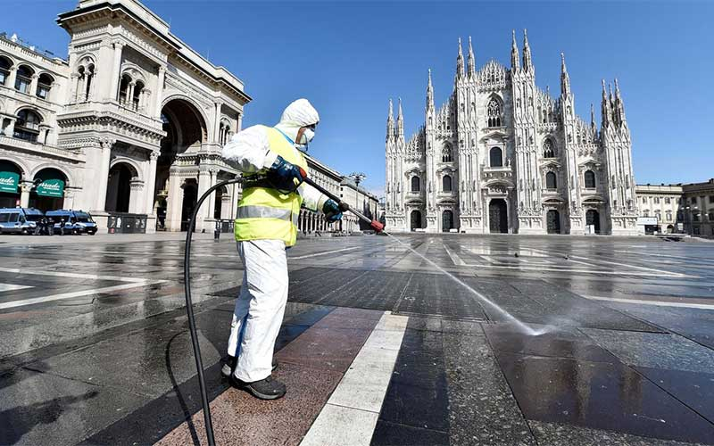 Itália endurece restrições para conter alta da covid-19