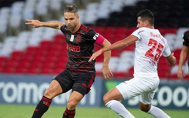 Flamengo perde chance de assumir liderança ao empatar com Bragantino