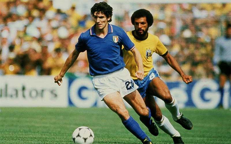 Morre Paolo Rossi, ex-atacante da Itália e carrasco do Brasil no Mundial de 1982
