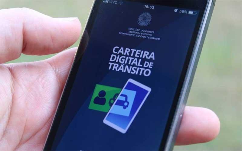 Carteira Digital de Trânsito é o melhor aplicativo do governo federal