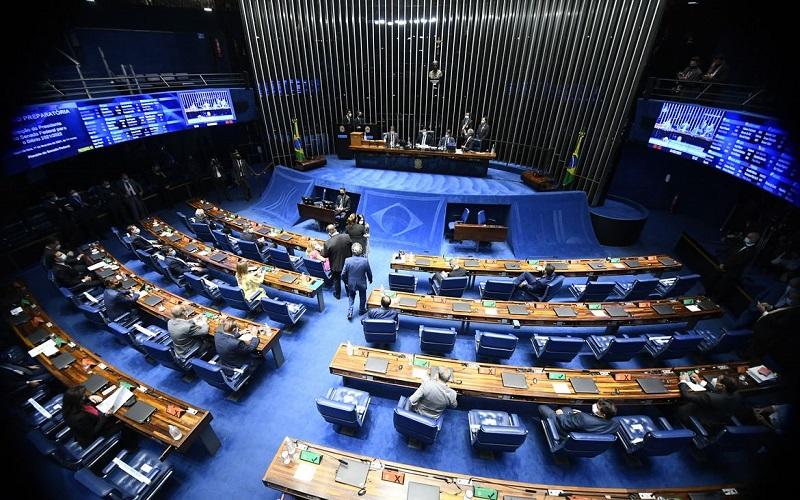Começa sessão para escolha do novo presidente do Senado