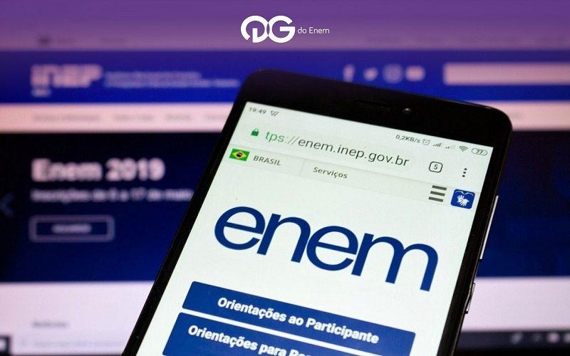 Participantes do Enem digital com covid-19 podem pedir reaplicação