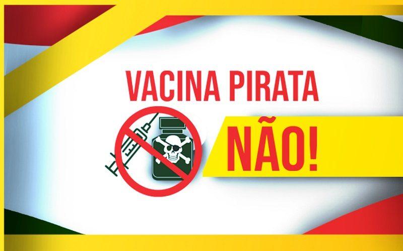 Governo federal lança campanha contra pirataria de vacinas