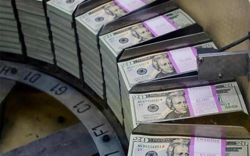 Dólar tem pequena queda e fecha dia vendido a R$ 5,37
