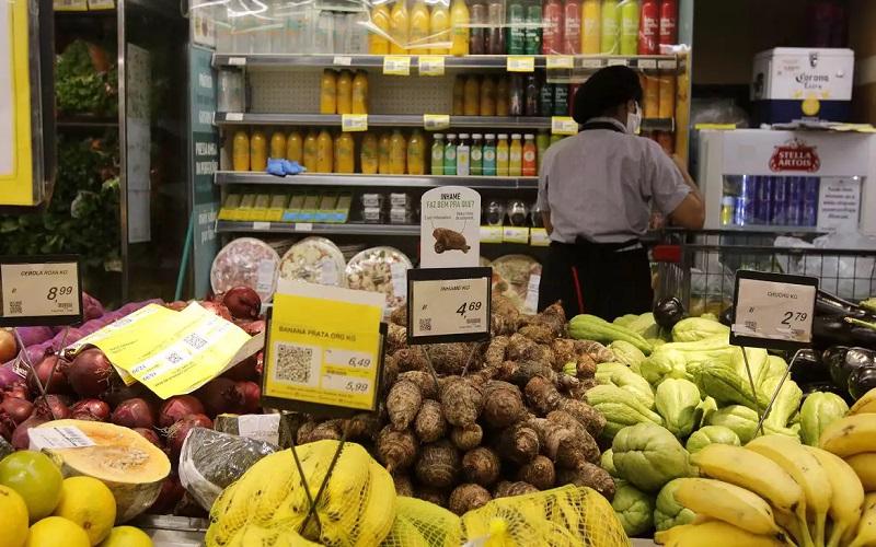 IBGE: inflação desacelera para 0,25% em janeiro