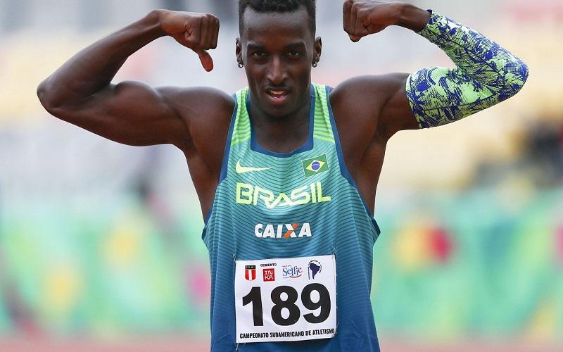 Atletismo: Gabriel Constantino é prata na França