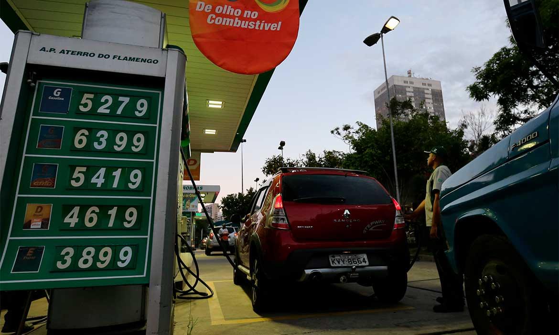Preços da gasolina, diesel e gás aumentam hoje nas refinarias